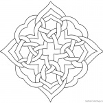 Adults Celtic Knot Coloring Pages