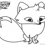 Animal Jam Coloring Pages Arctic Fox