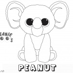 Beanie Boo Coloring pages Peanut