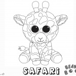 Beanie Boo Coloring pages Safari