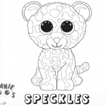 Beanie Boo Coloring pages Speckles