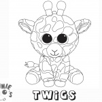 Beanie Boo Coloring pages Twigs