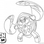 Ben 10 Coloring Pages Character Galapagus