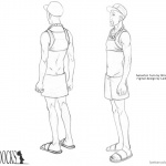 Boondocks coloring pages Character design turn