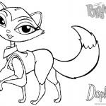 Bratz Coloring Pages Petz Doll Daphne