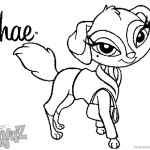 Bratz Coloring Pages Petz Doll Shae