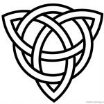 Celtic Knot Coloring Pages Fergus Scottish Festival and Highland Games