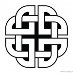 Celtic Knot Coloring Pages Quaternary