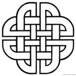 Celtic Knot Coloring Pages by silver_jackal