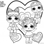 Cute LOL Coloring Pages