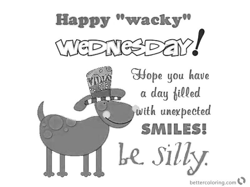 Dr Seuss Wacky Wednesday Coloring