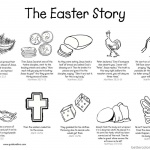 Easter Story Empty Tomb Cloring Pages He is Risen