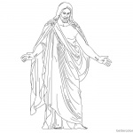 He is Risen Coloring Pages Easter Coloring Sheet