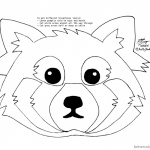 How to Draw Red Panda Coloring Pages