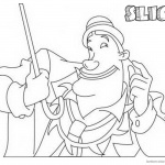 Jumanji Coloring Pages Animated Tv Series Slick