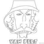Jumanji Coloring Pages Animated Tv Series Van Pelt