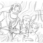 Jumanji Coloring Pages Sketch by CartoonSilverFox