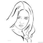 jumanji coloring pages | Jumanji Coloring Pages Karen Gillan Sketch by Max Silveira ...