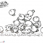 Kirby Coloring Pages Inktober Kirby Mass Attack