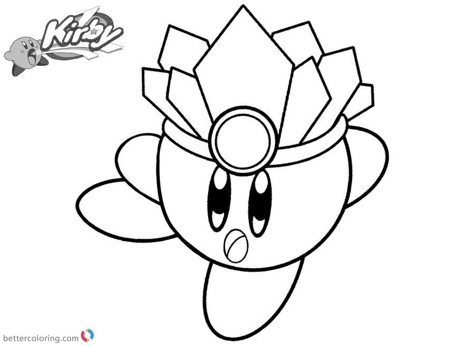 Kirby Coloring Pages Inspirational Kirby Picture printable and free
