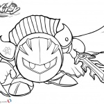 Kirby Coloring Pages Meta Knight by charfade