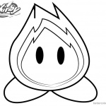 Kirby Coloring Pages Picture Boboo