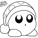 Kirby Coloring Pages Picture Noddy