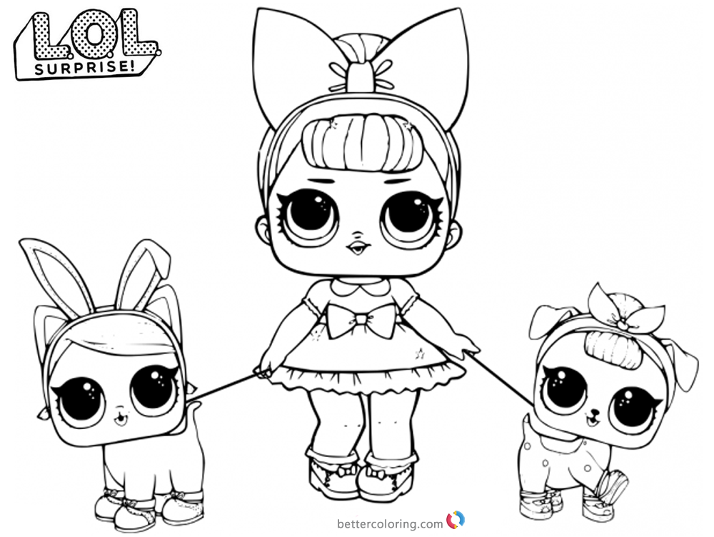 coloring pages for kids lol | LOL Coloring Pages Fancy Baby - Free Printable Coloring Pages
