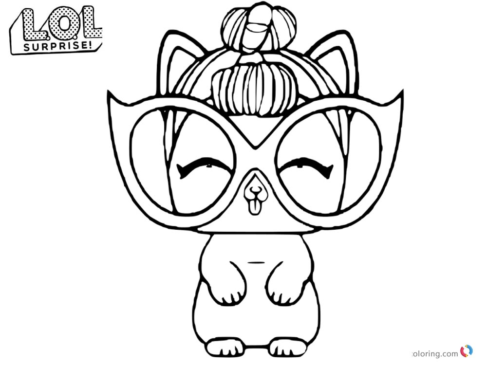 LOL Coloring Pages IT Kitty printable