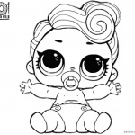 LOL Coloring Pages Lil queen