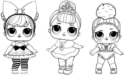 Lol Surprise Doll Coloring Pages Free Printable Coloring Pages - Dolls-coloring-pages