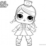 LOL Surprise Coloring Pages Majorette