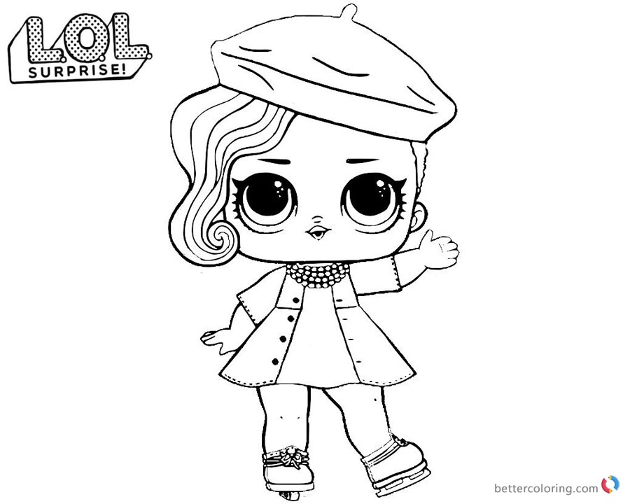 LOL Surprise Coloring Pages Series 2 Posh