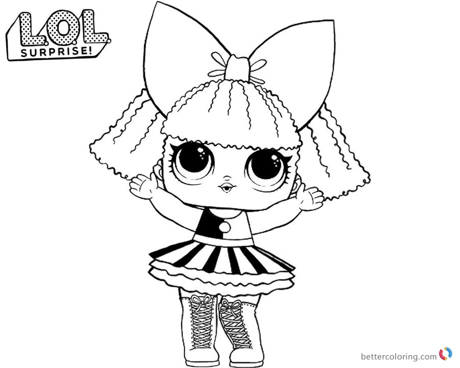 Lol dolls printable coloring pages lol best free for Lol surprise da colorare