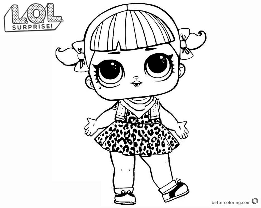 lol surprise doll coloring pages series 2 cherry