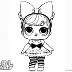 LOL Surprise Doll Coloring Pages Curious Qt