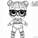 LOL Surprise Doll Coloring Pages Glitter Teachers Pet