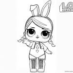 LOL Surprise Doll Coloring Pages Hops