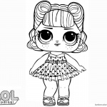 LOL Surprise Doll Coloring Pages Jitterbug