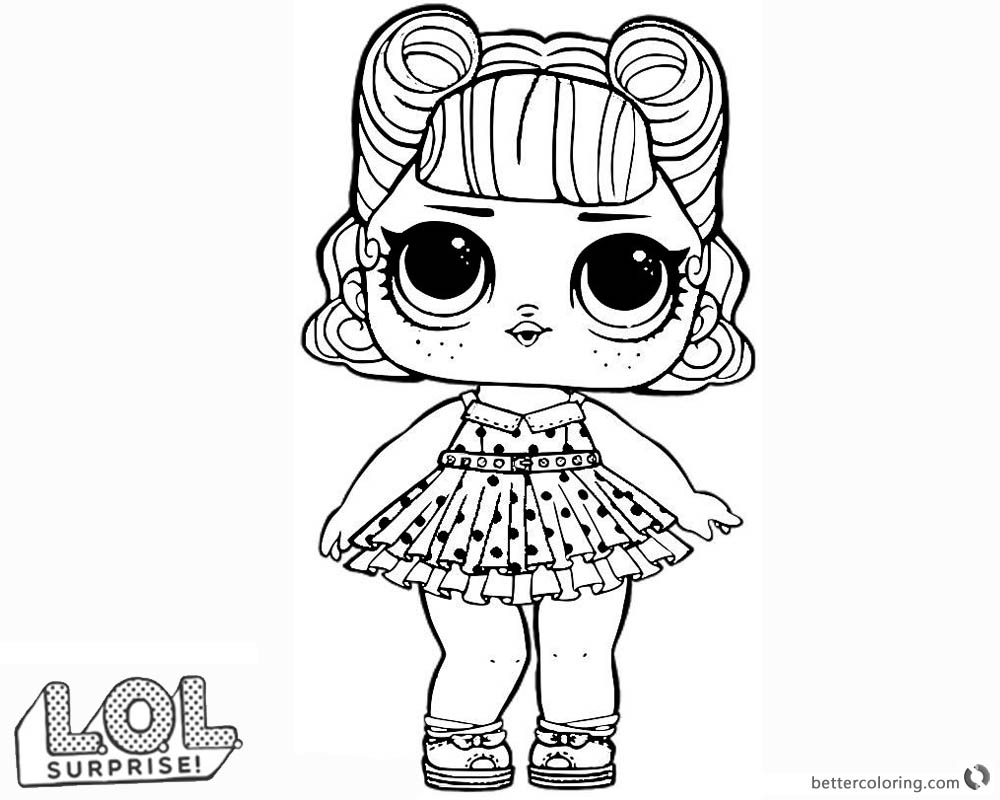 LOL Surprise Doll Coloring Pages Jitterbug - Free ...