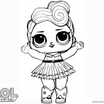 LOL Surprise Doll Coloring Pages LUXE