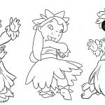 Lilo and Stitch Hula Coloring Pages Hula Dance
