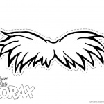 Lorax Mustache Coloring Pages