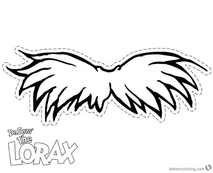 Remarkable image with regard to lorax mustache printable
