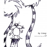 Lorax coloring page kids Drawing by LizzyLorax coloring page kids Drawing by Lizzy