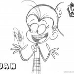 Loud House Coloring Pages Cool Luan