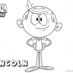 Loud House Coloring Pages How to Draw Lincoln