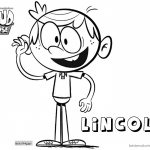 Loud House Coloring Pages Lincoln Loud by brandan97