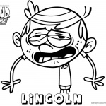 Loud House Coloring Pages Lincoln art by cdup999