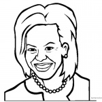 Michelle Obama Coloring Pages Marvellous Design